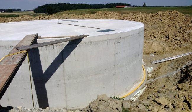 Behälterdecken bis 24m Durchmesser, befahrbar für Fahrzeuge mit 30-30to oder 30to