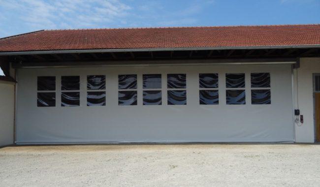 Verschiedene Materialien und Lichtfenster können beliebig zusammengestellt werde